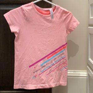 Peachy Girls size 10 Ivivva athletic top
